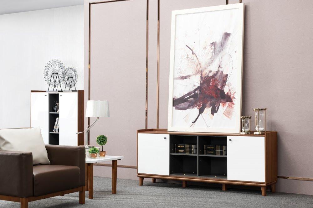 Oscar Office Leather Sofa